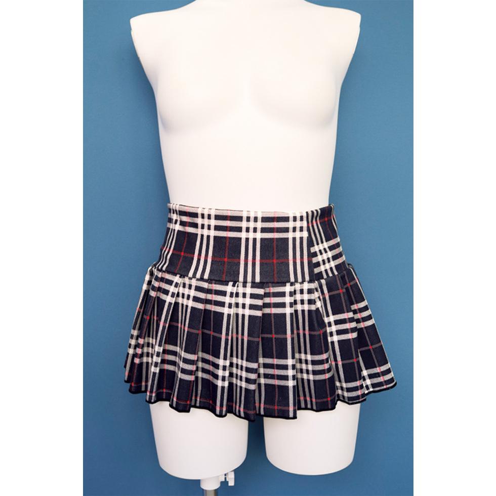 ストレッチプリーツスカート おとこの娘用3Lサイズ
